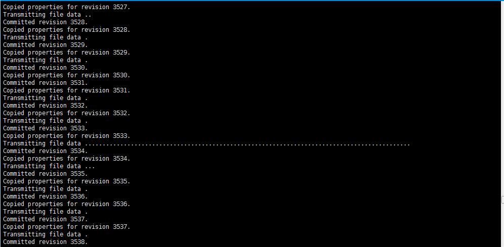 搭建svn  backup服务器